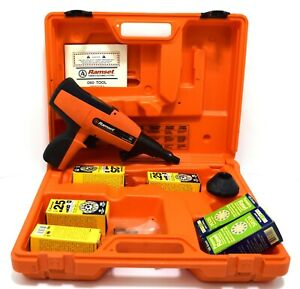 Ramset Red Head Nail Gun Itw Industrial Powder Actuated Nailer D60