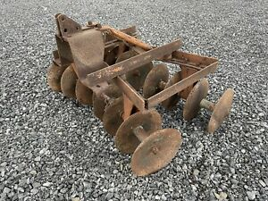 Brinly Disk Three Point Hitch Cat 0 Cub Cadet John Deere