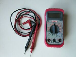 Craftsman 82140 Digital 8 Function Multimeter With Test Leads