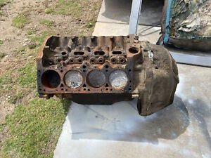 1957 1958 1959 1960 Dodge Plymouth 318 Poly Engine Short Block Bell Housing