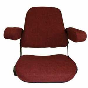 Seat Assembly Mechanical Fabric Red Compatible With International Case