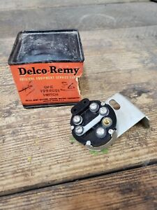 Nos 1938 Chevrolet Master Master Deluxe Headlight Switch Delco Remy 1994001