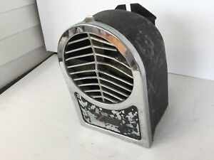 Rare Accessory Chevrolet Heater 1920 s And 1930 s With Chevrolet Bowtie Emblem