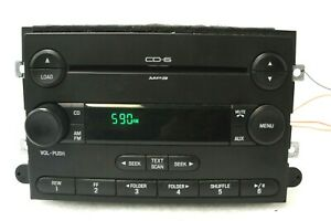 Ford Oem 6 Disc Cd Changer Radio Edge F150 Expedition Explorer Fusion 04 14 7e5t