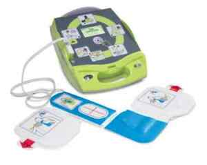 Zoll Aed Plus Fully Automatic Plus Package Defibrillator Batteries Pad Case