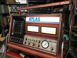Atlas Motor Analyzer Model Ama 440 Vintage 1970 Automotive Diagnostic Tester