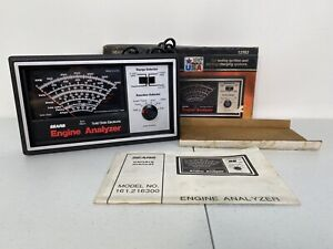 Sears 2163 Automotive Diagnostic Engine Analyzer Made In The Usa Complete