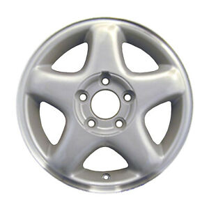 2021 Reconditioned Oem Wheel 15 X 6 Light Sparkle Silver W machined Flange