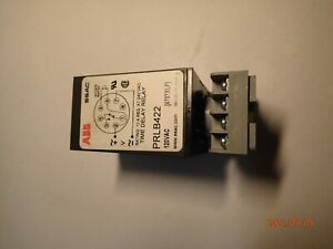 Abb Time Delay Relay Prlb422
