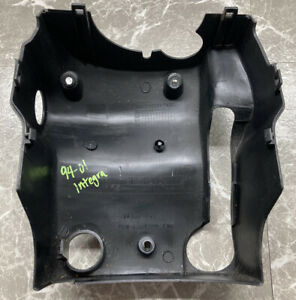 94 01 Acura Integra Steering Wheel Column Cover Oem Black Ignition Collar