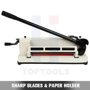 Professional 17 Inch Guillotine Paper Cutter Automatic Clamp German Engineered