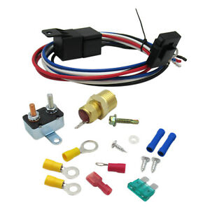 For 3 8 175 185 Electric Engine Fan Thermostat Temperature Relay Switch Sensor