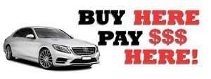 3ft X 8ft Buy Here Pay Here Vinyl Banner New free Shipping