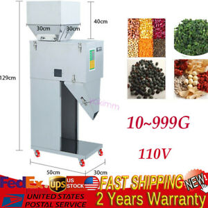 Automatic 10 999g Powder Racking Filling Machine Weigh Filler For Tea Seed Grain