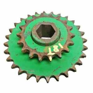 Used Seed Transmission Chain Gear Sprocket Compatible With John Deere 7000 7000