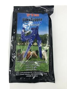 Ultra Tagger Plus Ear Tagger Y tex Fly Tags Visual Cattle Cow Identification