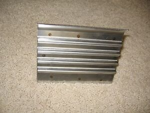 Stainless Steel Safety Step Edger groover 6 X 4 1 2 Concrete Tool