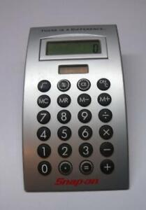 Snap on Tools Desk Top Calculator With Box