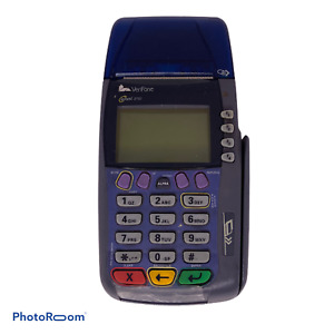 Verifone Omni 3750 Credit Card Machine With Pin Pad 1000se No Cords Works A1