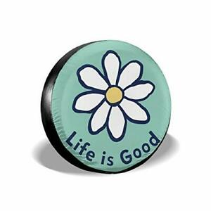 Sdjgnssdf Spare Tire Covers Life Is Good Wheel Covers Rv Tire Covers Sun Proo