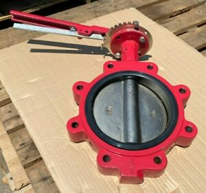 8 Lug Butterfly Valve Ductile Iron Disc Epdm Seat 200 Wog