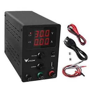 Dc Power Supply Variable Adjustable 30v 10a Switching Dc Regulated Dc 30v 001