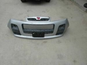 2006 2007 Saturn Vue Red Line Front Bumper Cover Grill Grille Fog Light Silver