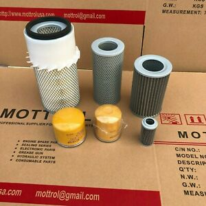 Fits For Komatsu Pc75 1 Pc75 2 Engine Filter air fuel oil hydraulic service