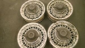 4 Wire Wheels Chrysler Dodge Desoto Plymouth Imperial Ford Rat Rod Hot Rod