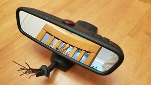 Bmw Rearview Mirror 51169174309 With Auto Dimming Homelink Alarm E60 E90
