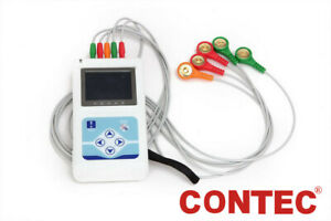 Tlc9803 Ecg Holter Monitor 3 Lead 24h Recorder Pc Software Analysis Arrhythmia