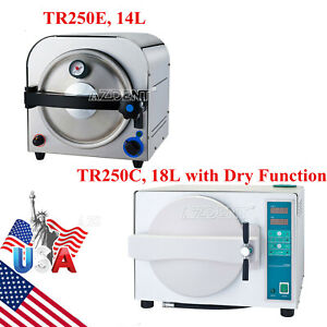14l 18l Dental Lab Autoclave Steam Sterilizer Sterilization with Drying Function
