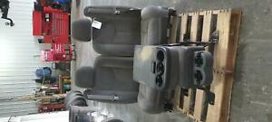 2003 2007 Chevrolet Silverado 1500 Grey Front Seat Bucket And Bench Seat Opt Ae7