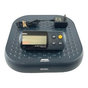 Royal Shipping Scale Ex315w 315 Lb Tested Working