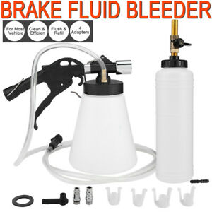 1 75l Pneumatic Brake Fluid Bleeder Kit Car Air Extractor Pump Oil Bleeding Tool