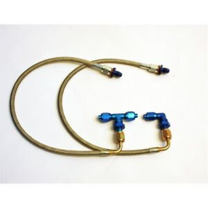 Garage Sale Stainless Steel Brake Line And Fitting Kit