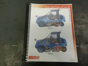 Elgin Series 2000 Np And Ns Street Sweeper Parts Manual 0702235 a