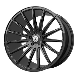 19x8 5 Wheel Rim Asanti Black Abl 14 Polaris Gloss Black 38mm 5x4 72