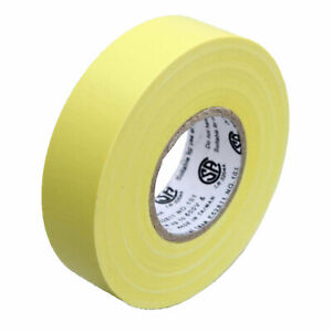 1 Roll Yellow Electrical Insulating Tape Vinyl 3 4 Inch 20 Yards Ul Listed