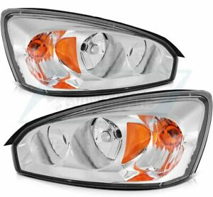Headlights For 2004 2008 Chevy Malibu Front Headlamps Assembly Replacement Pair