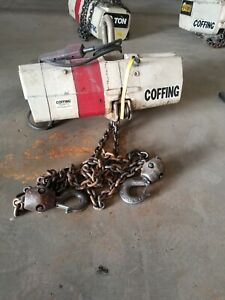Coffing 2 ton Chain Hoist With Pendant Control