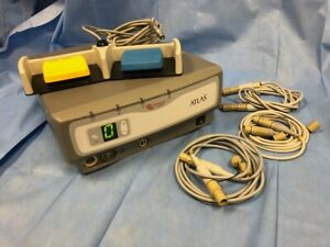Arthrocare Atlas Rf11000 W 10863 Footswitch 3 Wand Cables H0970 02 Used