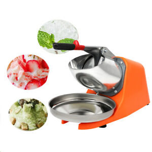 Home Commercial Use In Summer Stainless Steel Ice Shaver Machine Snow Cone Maker