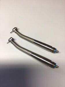 2 Midwest Tradition Fiber Optic Latch type Highspeed Handpiece