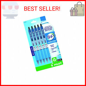 Pilot B2p Bottle To Pen Refillable Retractable Ball Point Pen Made From