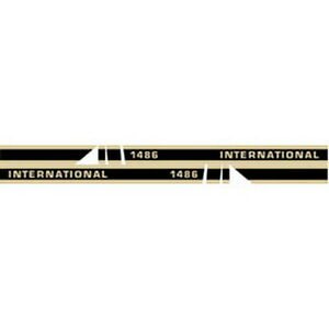 1486 International Harvester Tractor Hood Decal Kit Quality W Cab