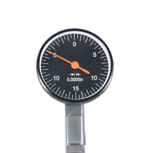 New Precision Black 0 030 Test Indicator 0 0005 Gr Dial Reading 0 15 0