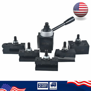 6 12 Axa Quick Change Tool Post And Tool Holder Set For Cnc Lathe 250 110