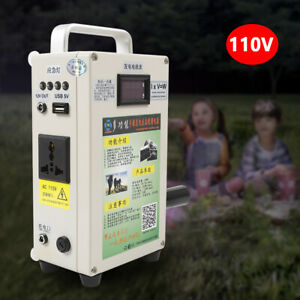 Hand Crank Generator Emergency Sites Power Supply W Charger Outdoor household