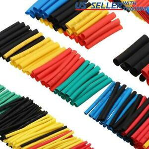 164pcs Multicolor Heat Shrink Tubing Electrical Wire Insulation Cable Sleeve Kit